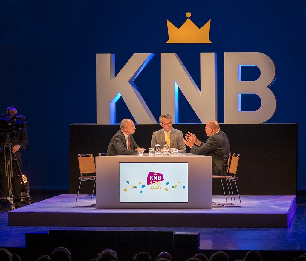 KNB jubileumevent met Fred Teeven